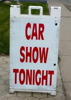 Car show tonight